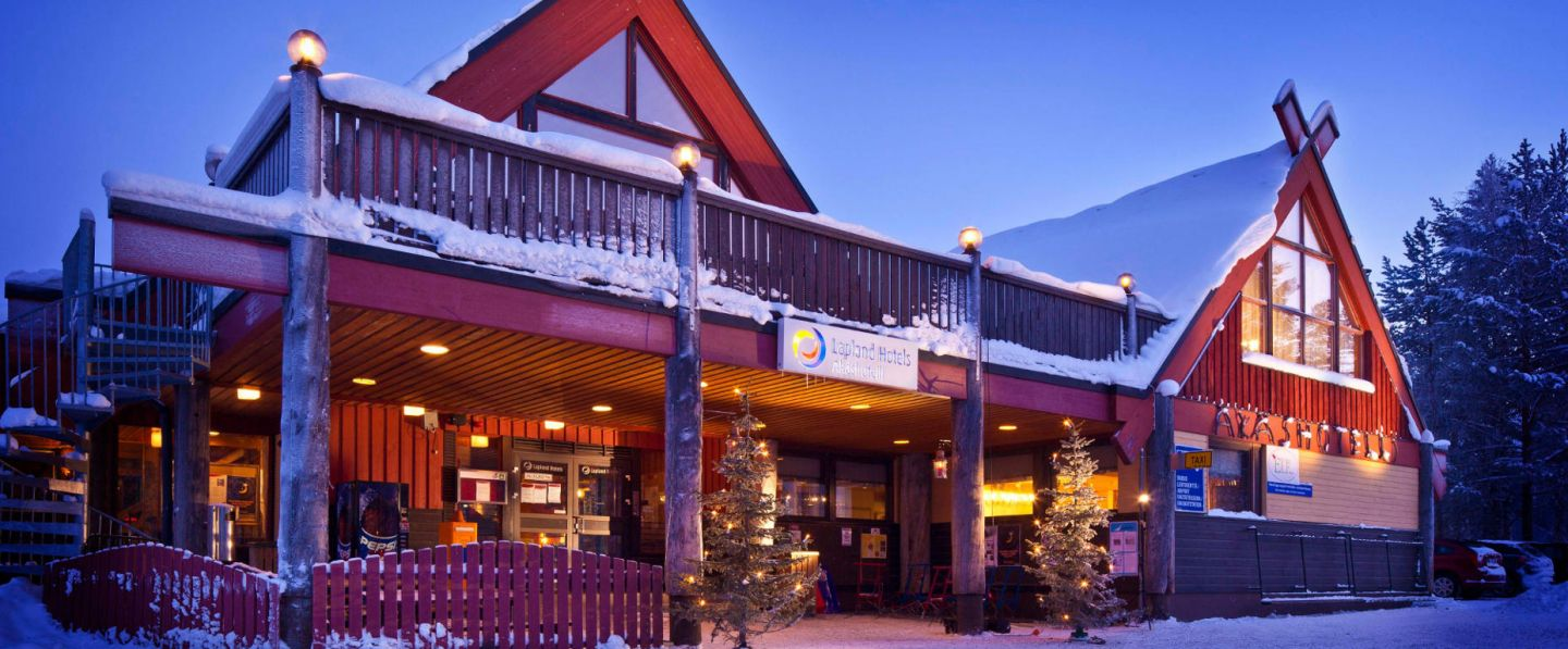 Hotel Akas in Lapland at Christmas