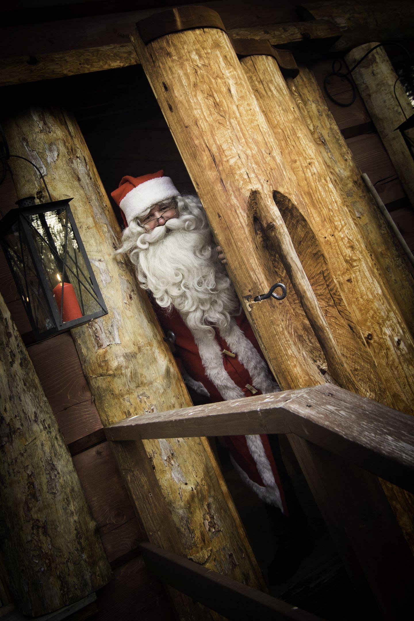 Santa Claus | film production services snowmobile