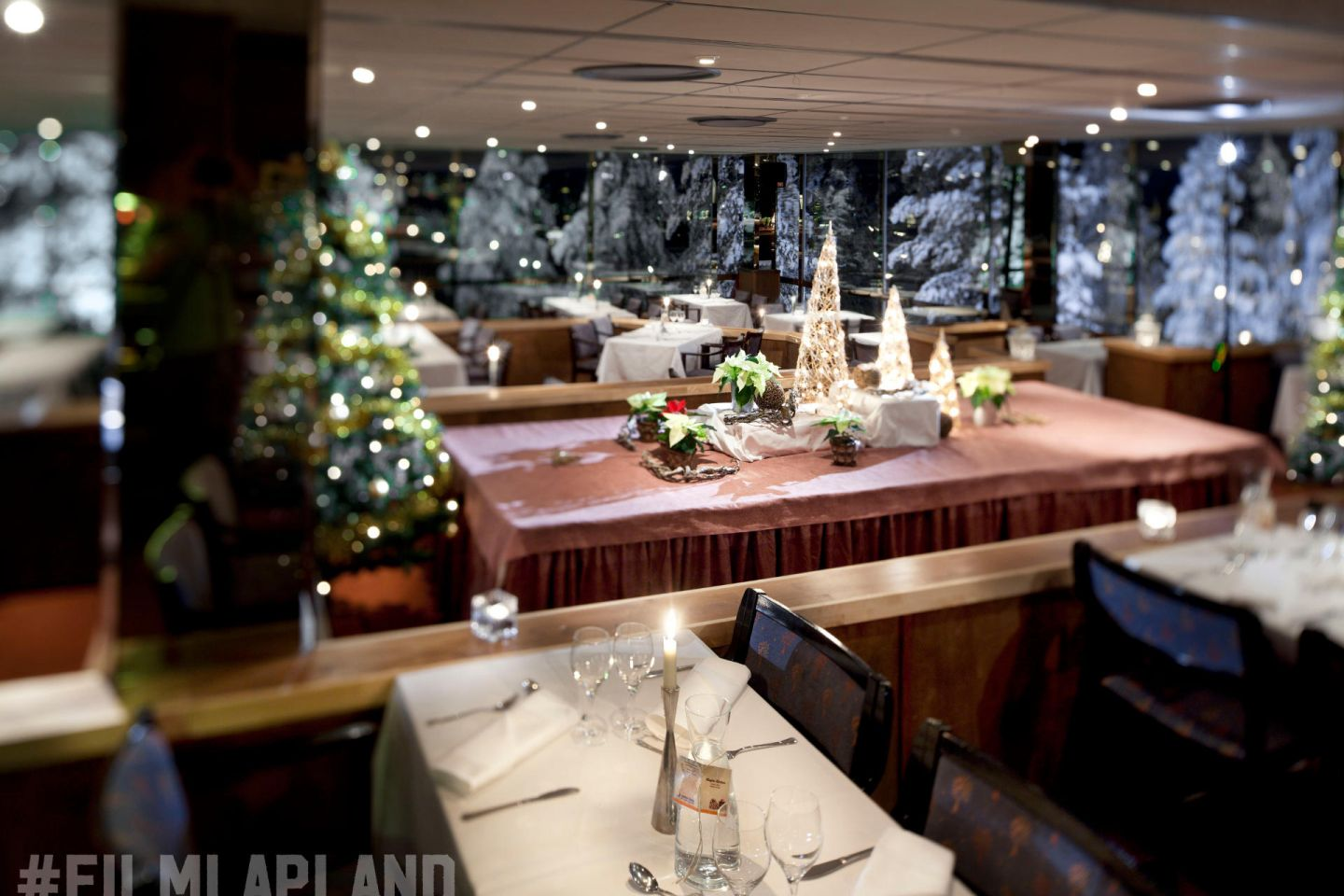 Lapland Hotels, Hotel Sky Restaurant in Finland