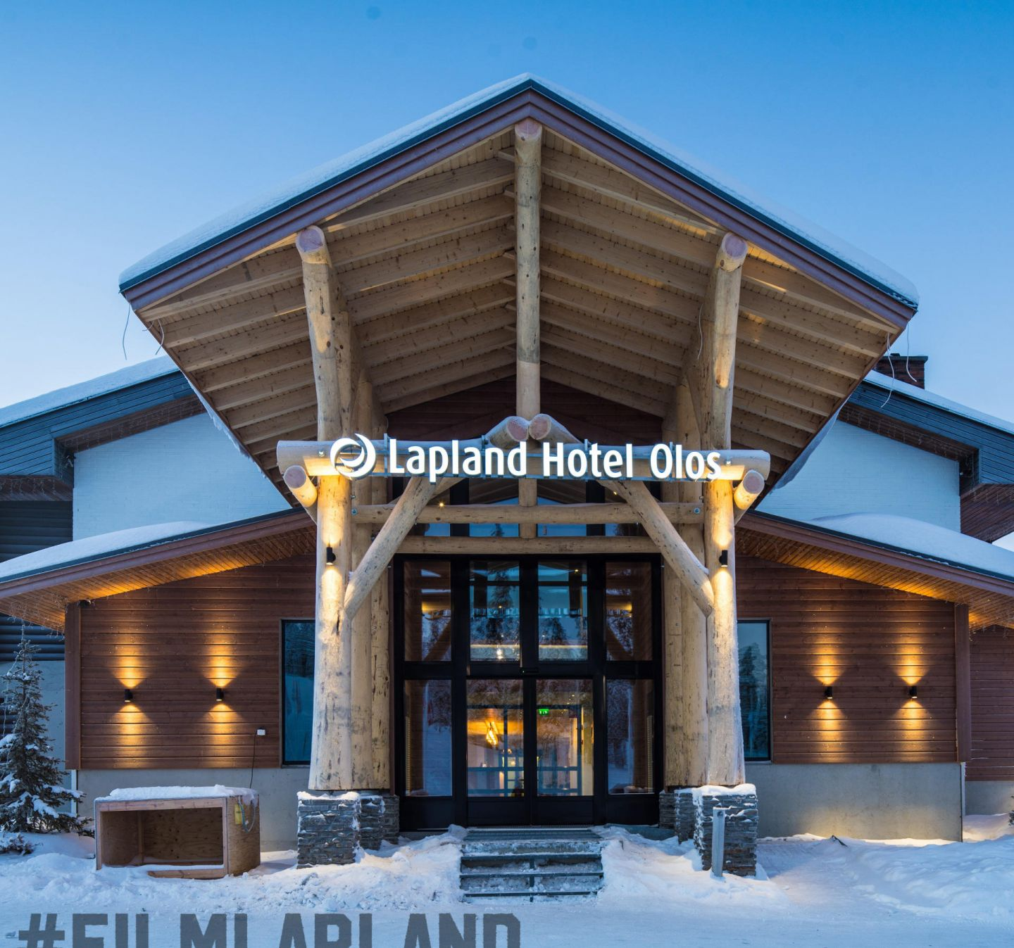 Hotel Olos in Lapland Finland