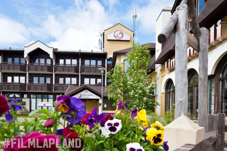 Hotel Riekonlinna in Lapland Finland