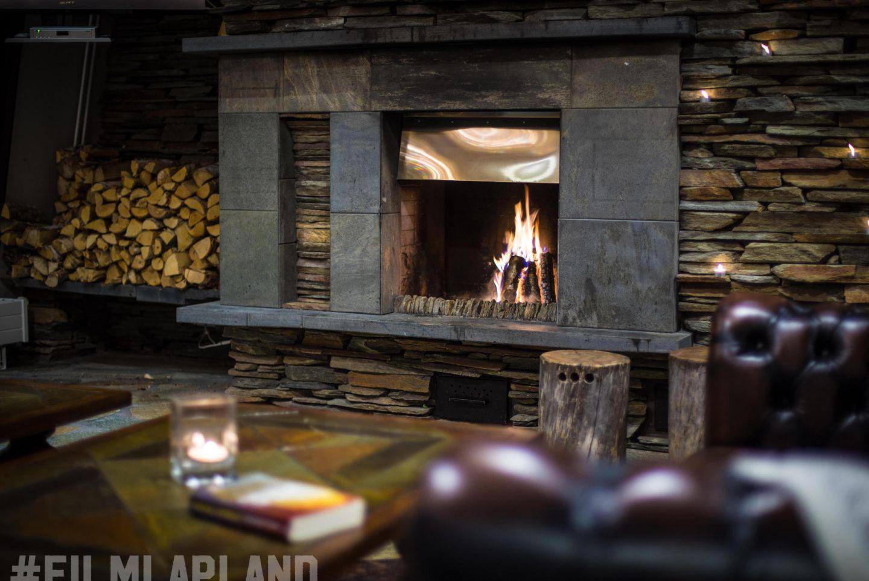 Hotel Saaga restaurant in Lapland Finland