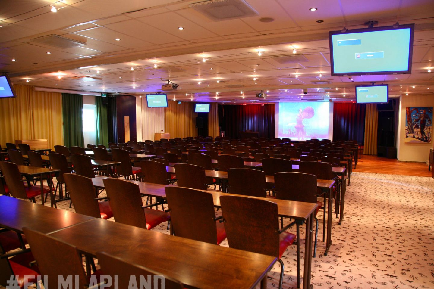 Conference Room in Hotel Hullu Poro in Lapland