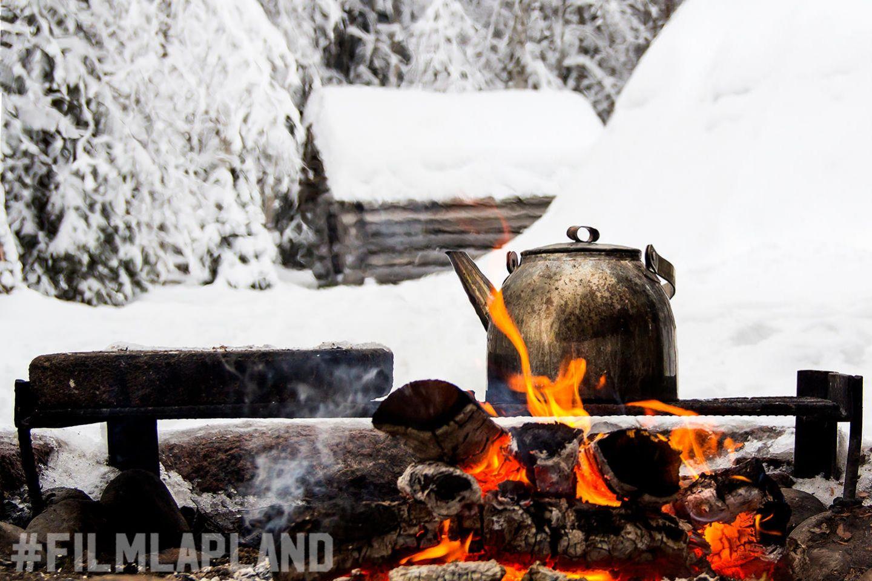 Campfire | konttaniemi film support services reindeer