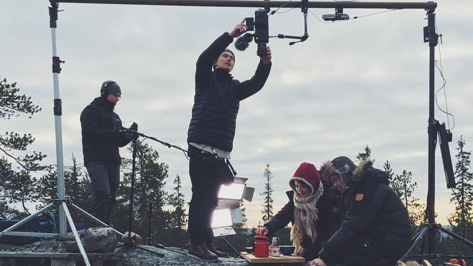 Flatlight Creative sets up a camera rig