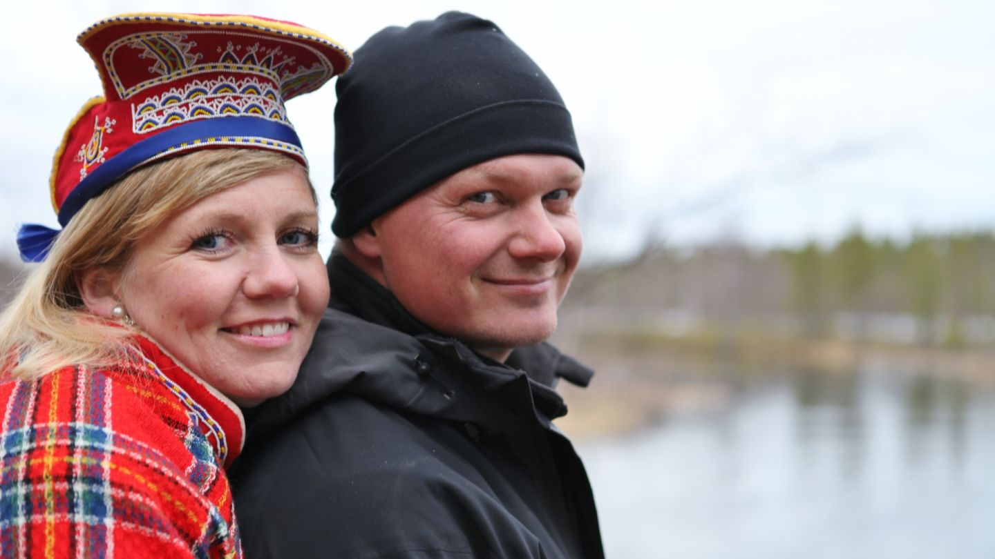 Owners of the Wilderness Hotel Nellim, part of the Film Friendly support services network in Lapland
