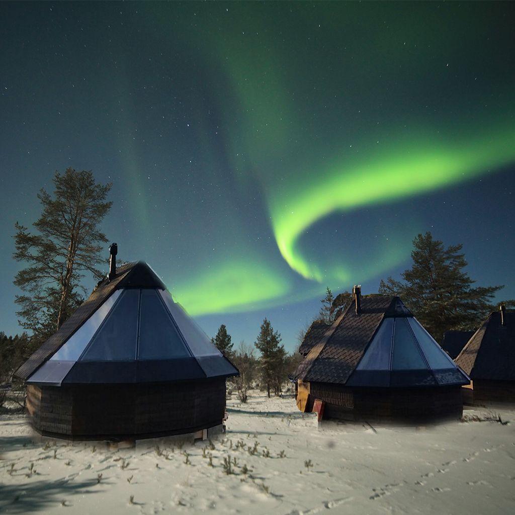 Aurora Cabins at Muotkan Wilderness Lodge