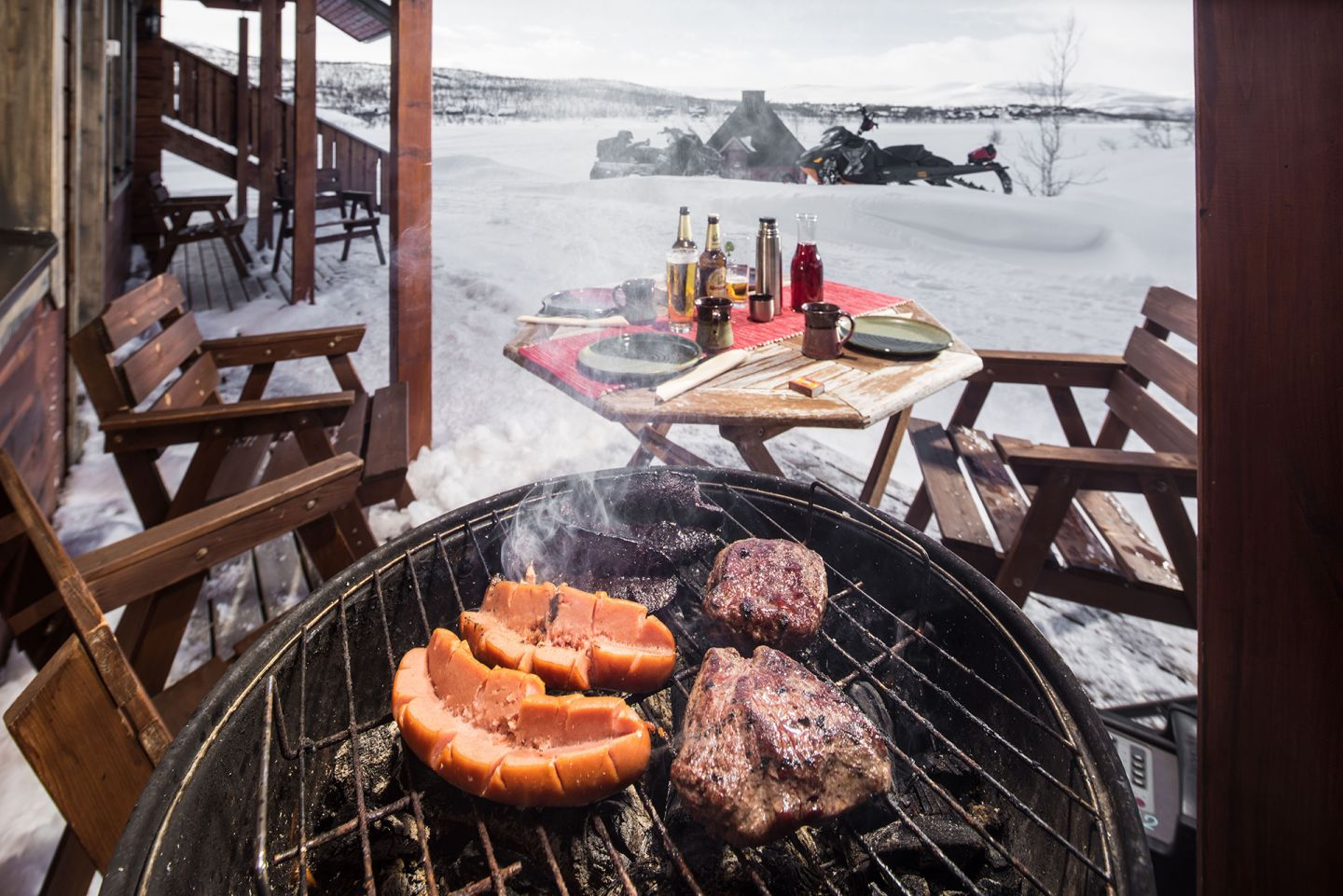 Grilling in the Arctic