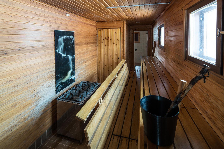 Luxury sauna in northernmost Finland