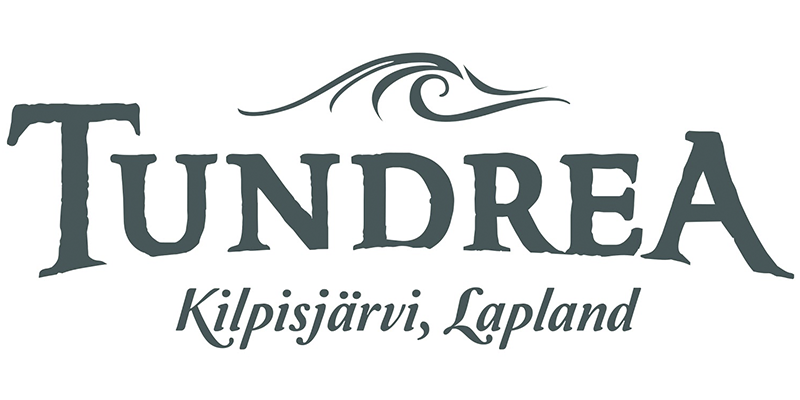 Logo for Tundrea, a film support service company in the Arctic tundra