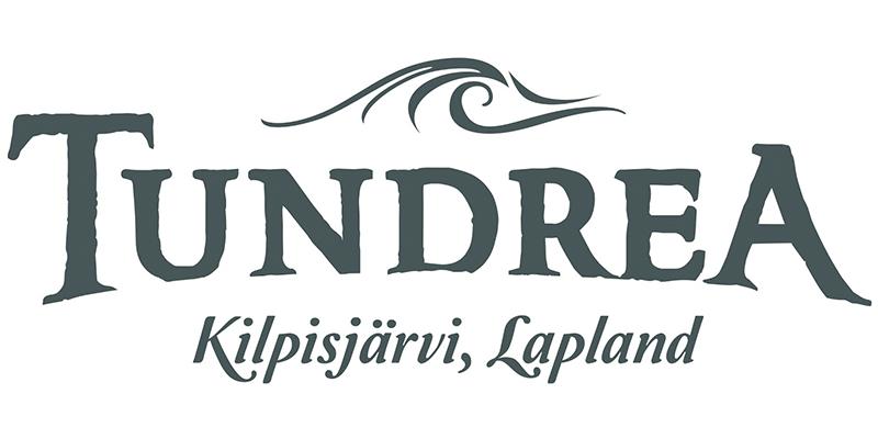 Logo for Tundrea, a film support service company in the Arctic tundra
