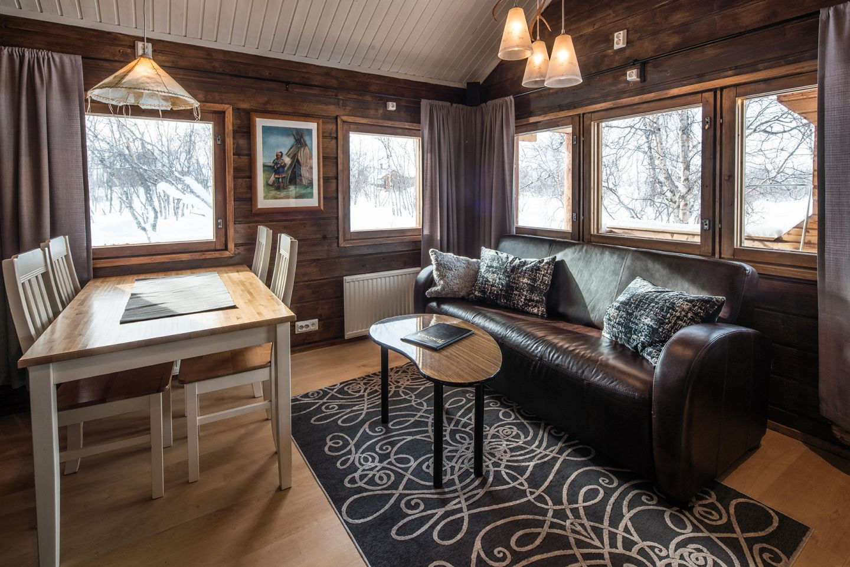 Luxury cabin at Tundrea in Kilpisjärvi
