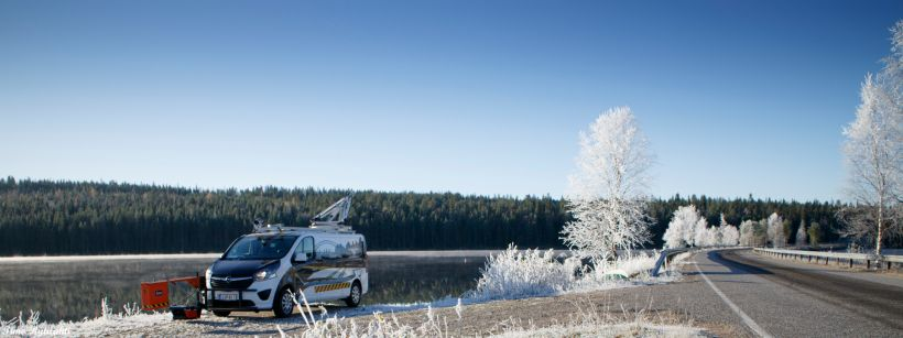 Road maintenance in Lapland by Roadscanners