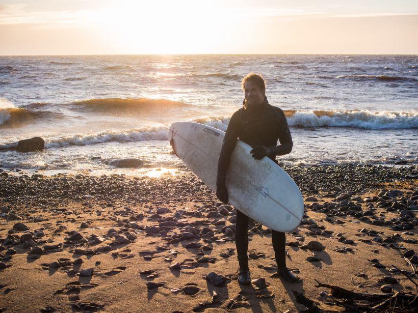 Surfing in Keminmaa