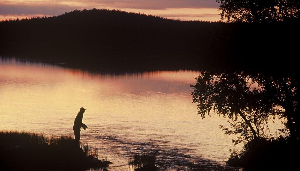 River in Lapland