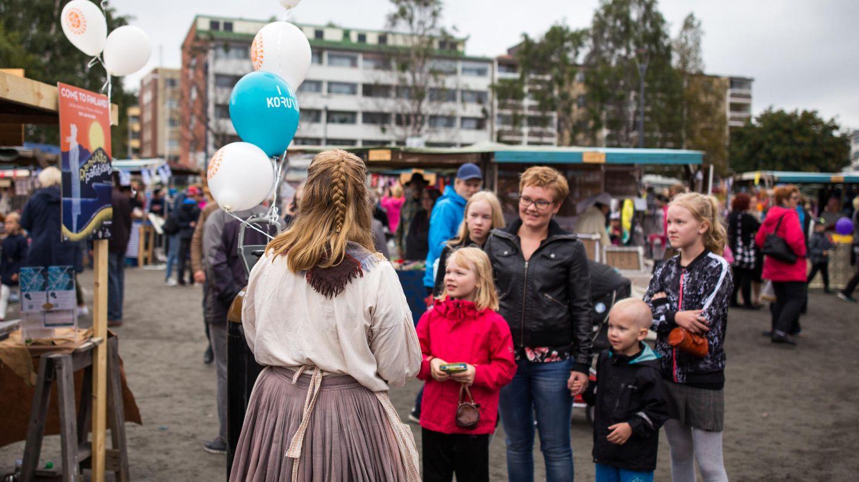 Rovaniemi Old Market in Finland
