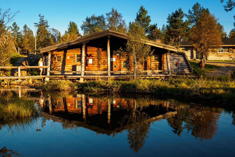 Smoke sauna in Lapland