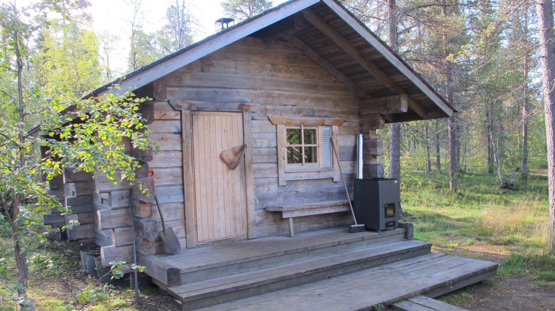 Wilderness sauna in Lapland