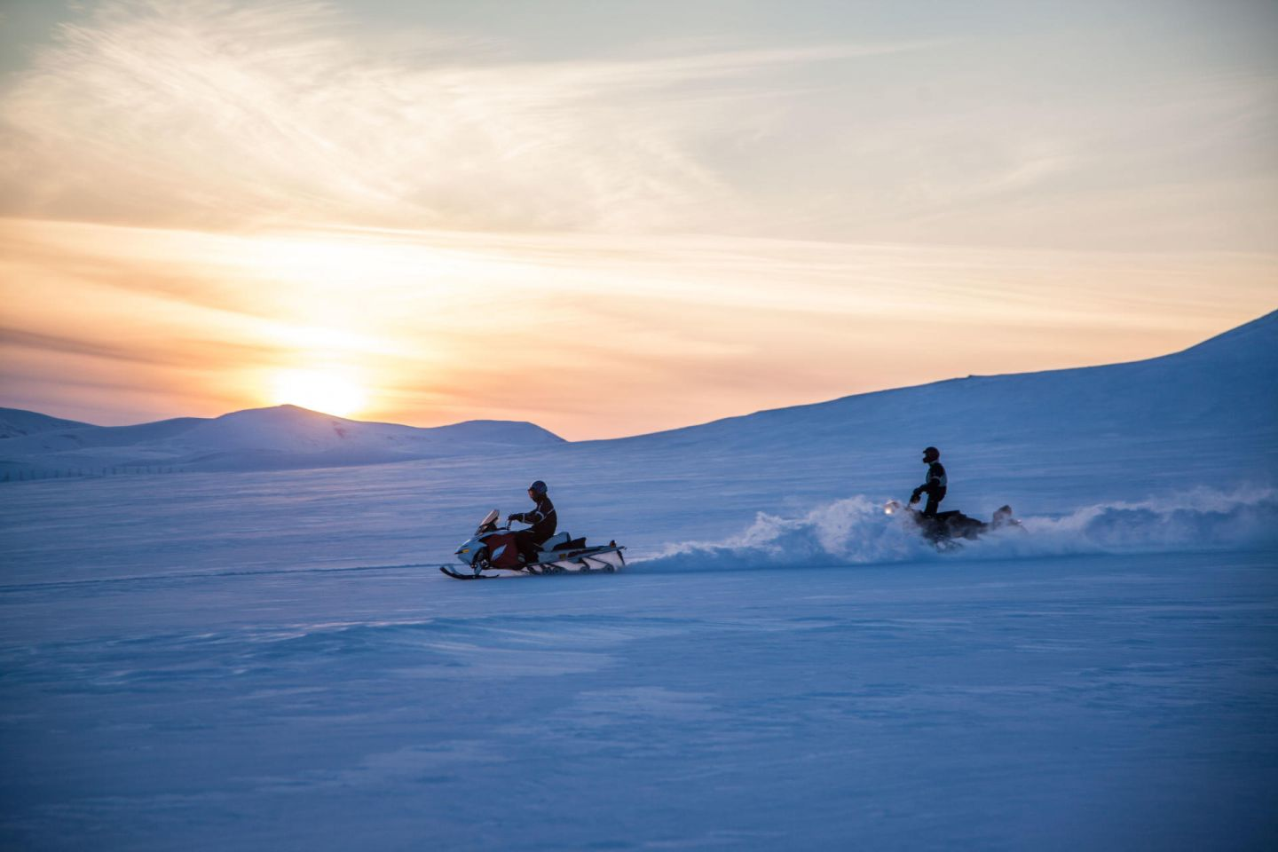 Snowmobiling with Tundrea in Kilpisjärvi, Finland