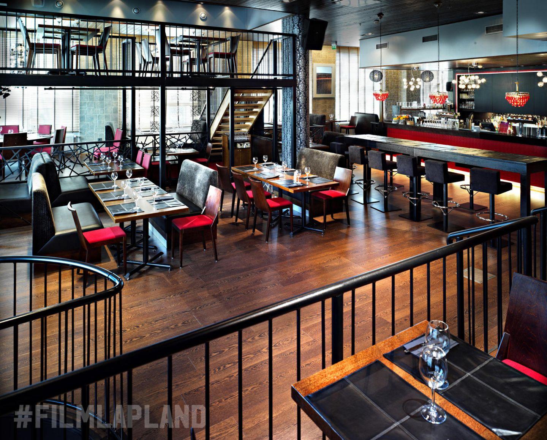 Bar Zoomup below Hotel Santa Claus in Rovaniemi, Finland