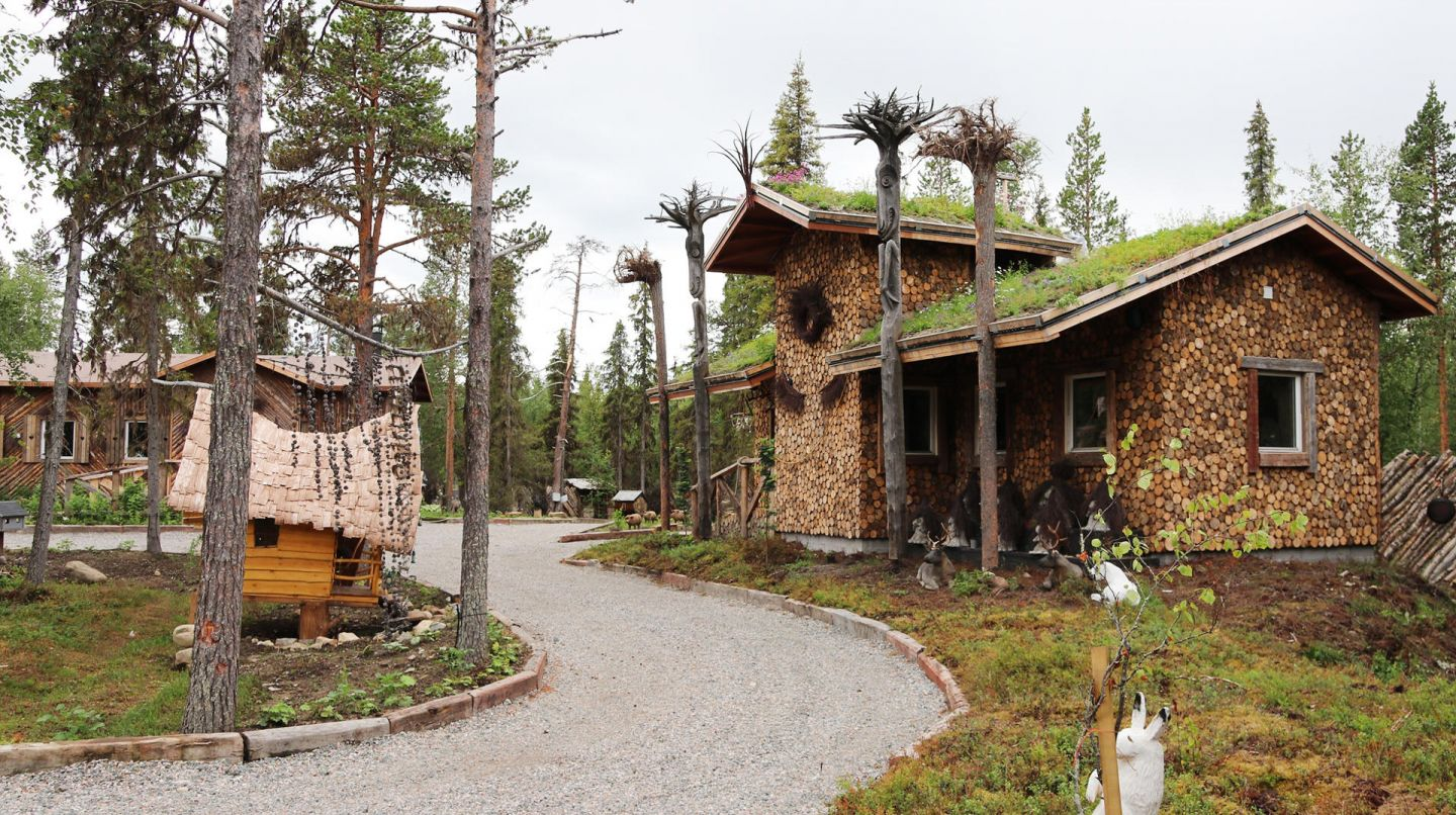 Elves Hideaway, a summer fantasy location in Lapland