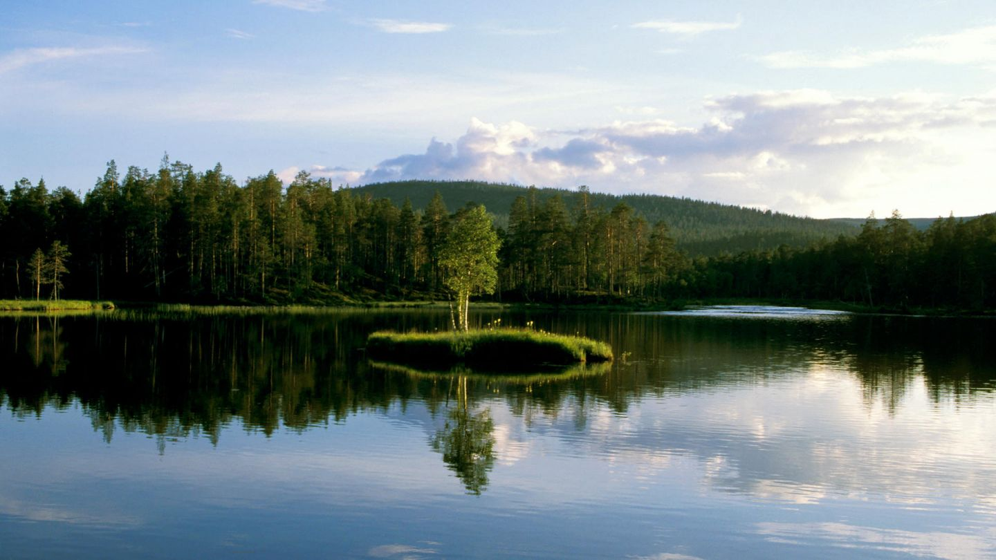 Lakes in Lapland