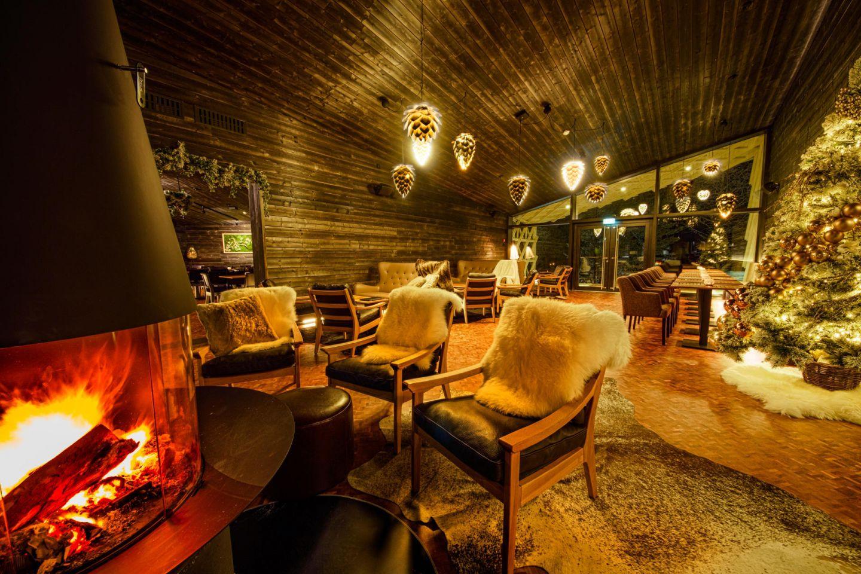 Rakas restaurant inside Arctic TreeHouse Hotel in Rovaniemi, Lapland