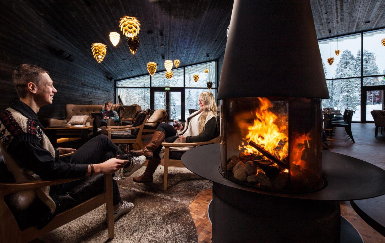 Rakas restaurant inside Arctic TreeHouse Hotel