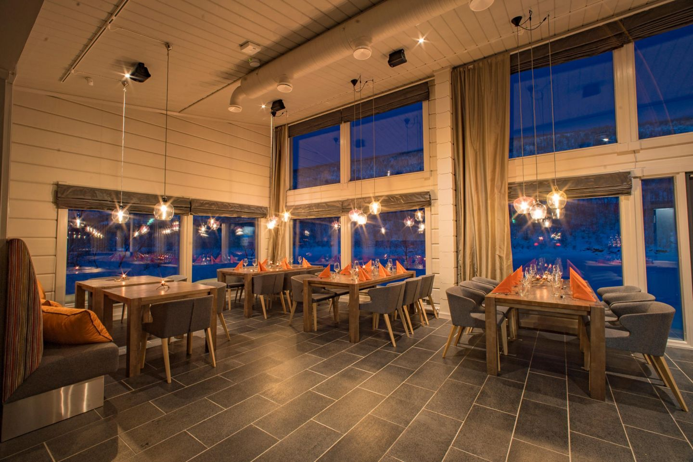 Deatnu restaurant in Lapland