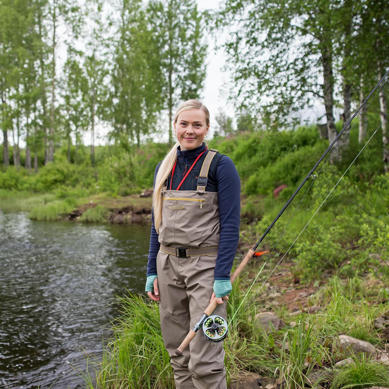 Sanna-Koljonen, fisherman from Finland
