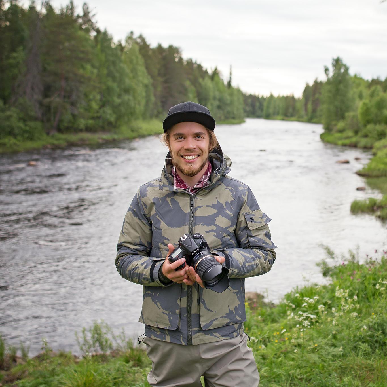 Joonas Linkola, photographer from Finland