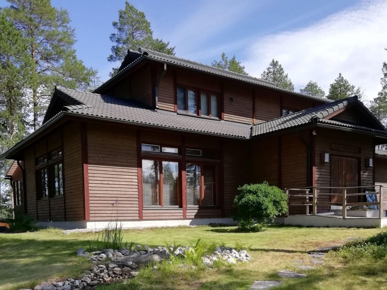 Japanitalo or Japan House in Ranua, Finland