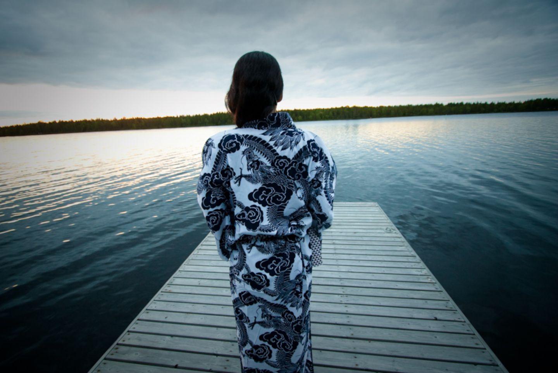 Enjoying the lake by Japanitalo in Ranua, Finland