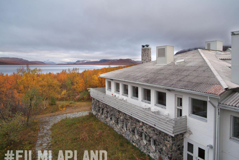 Hotel in Lapland in autumn