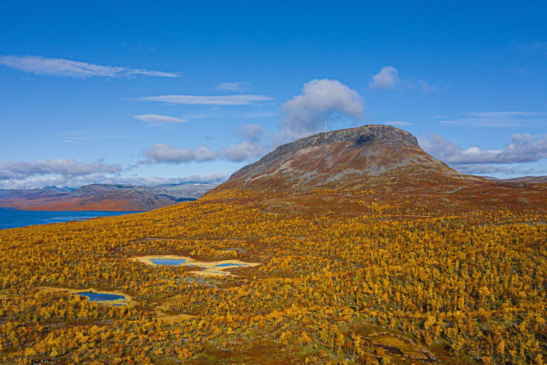 Autumn colors in Kilpisjärvi, Enontekiö, Lapland