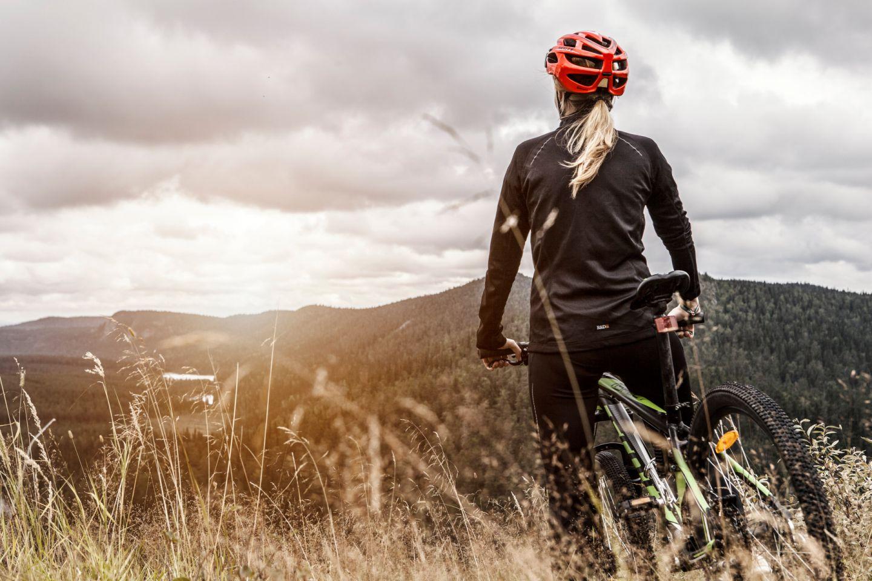 Mountain biking in Ruka, Finland