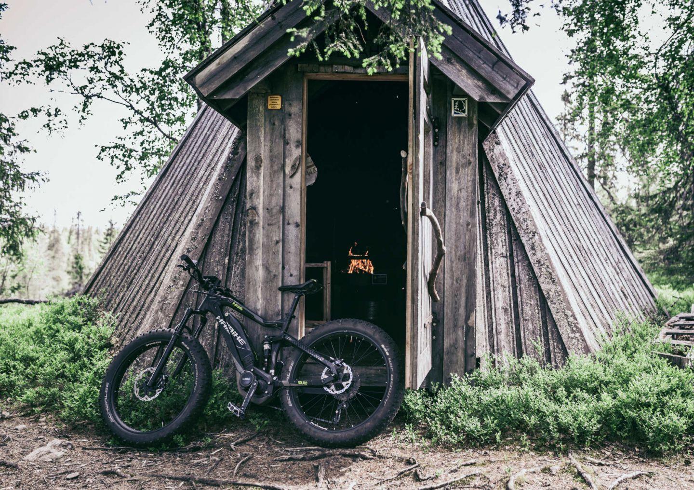 Biking in Salla