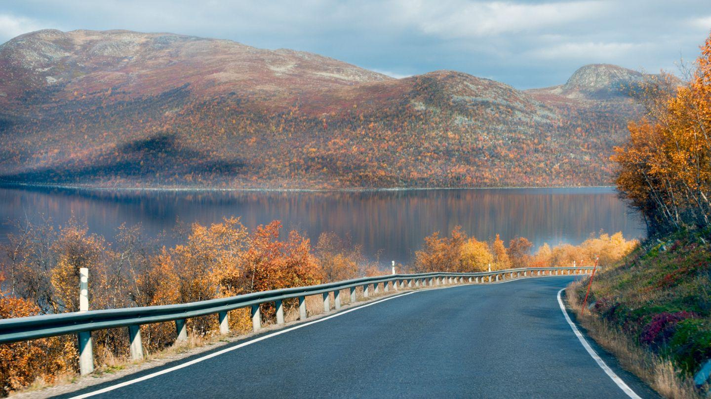 Road through Lapland
