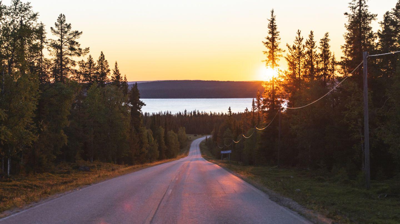 Road in Lapland