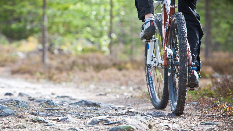 Finland summer biking