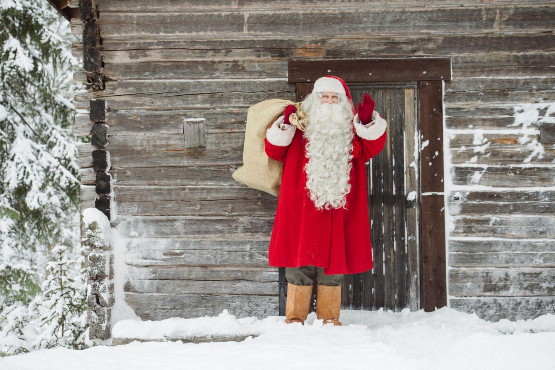 Santa Claus in Finnish Lapland