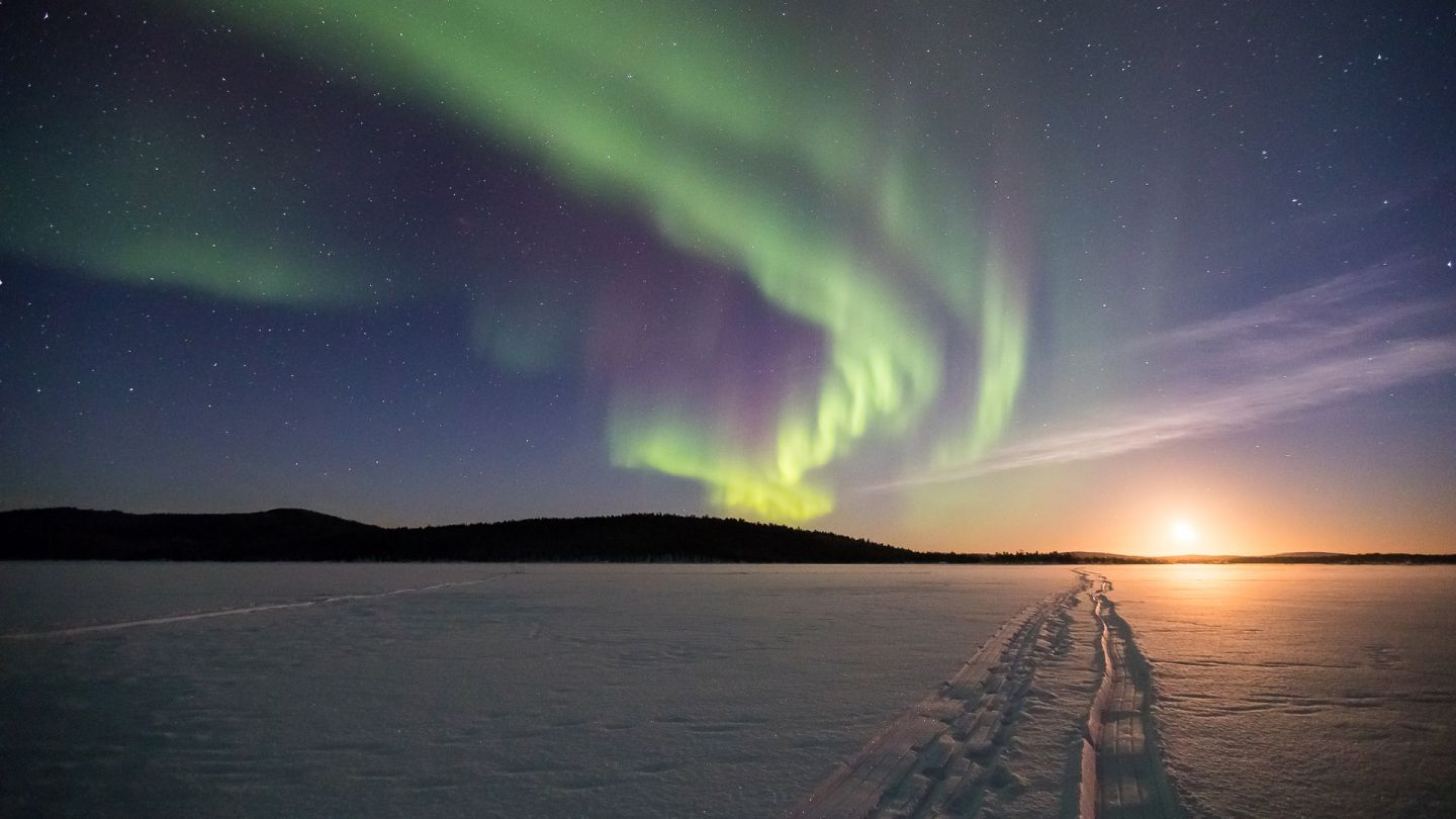 Northern lights, science