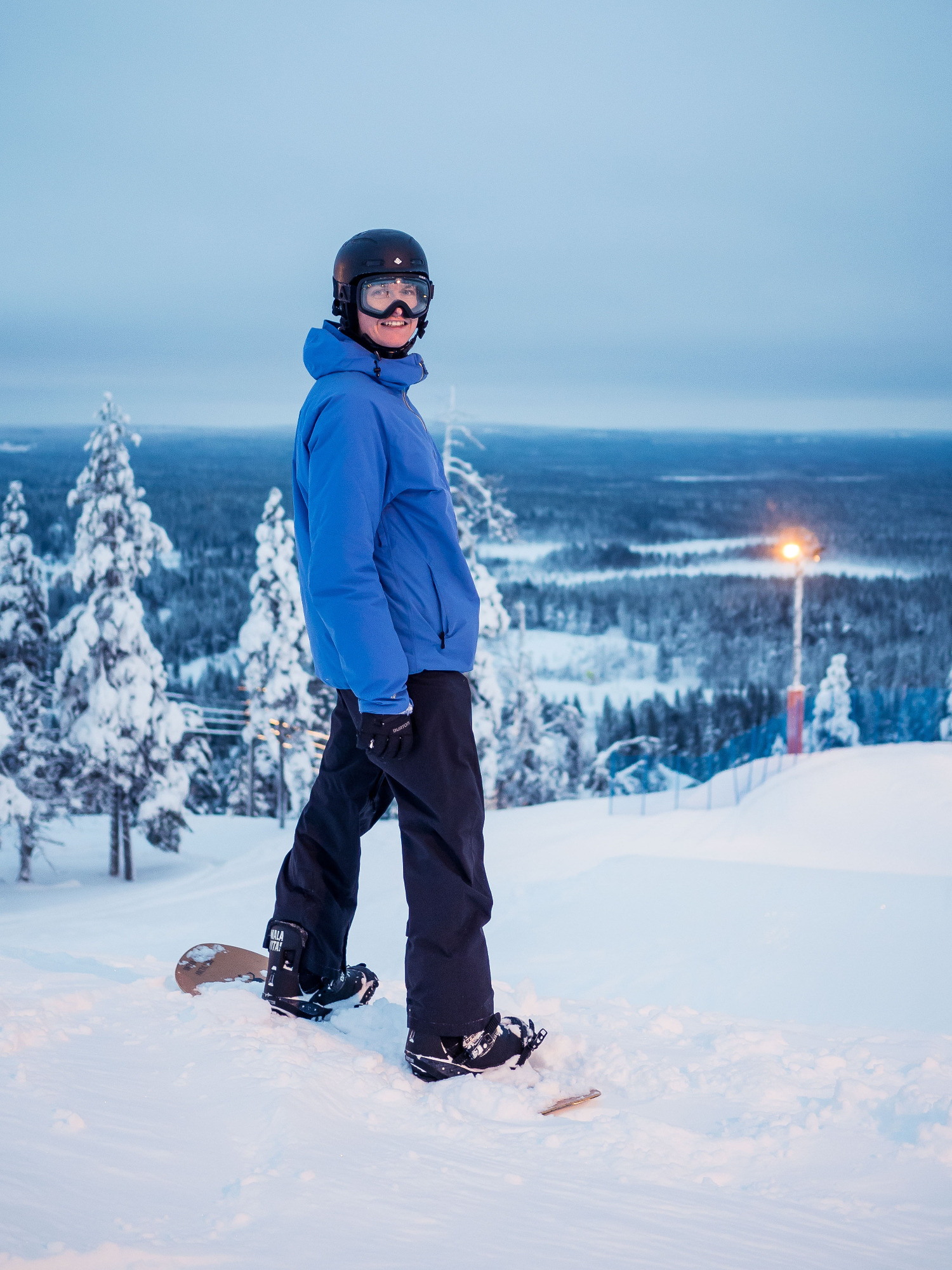 Mikko Halinen rinteessä