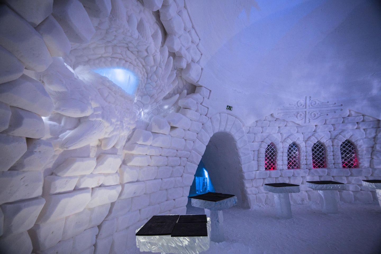 Game of Thrones snow village | snow construction