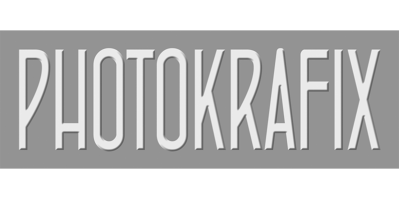Logo for Photokrafix, who provides film production services including multicamera