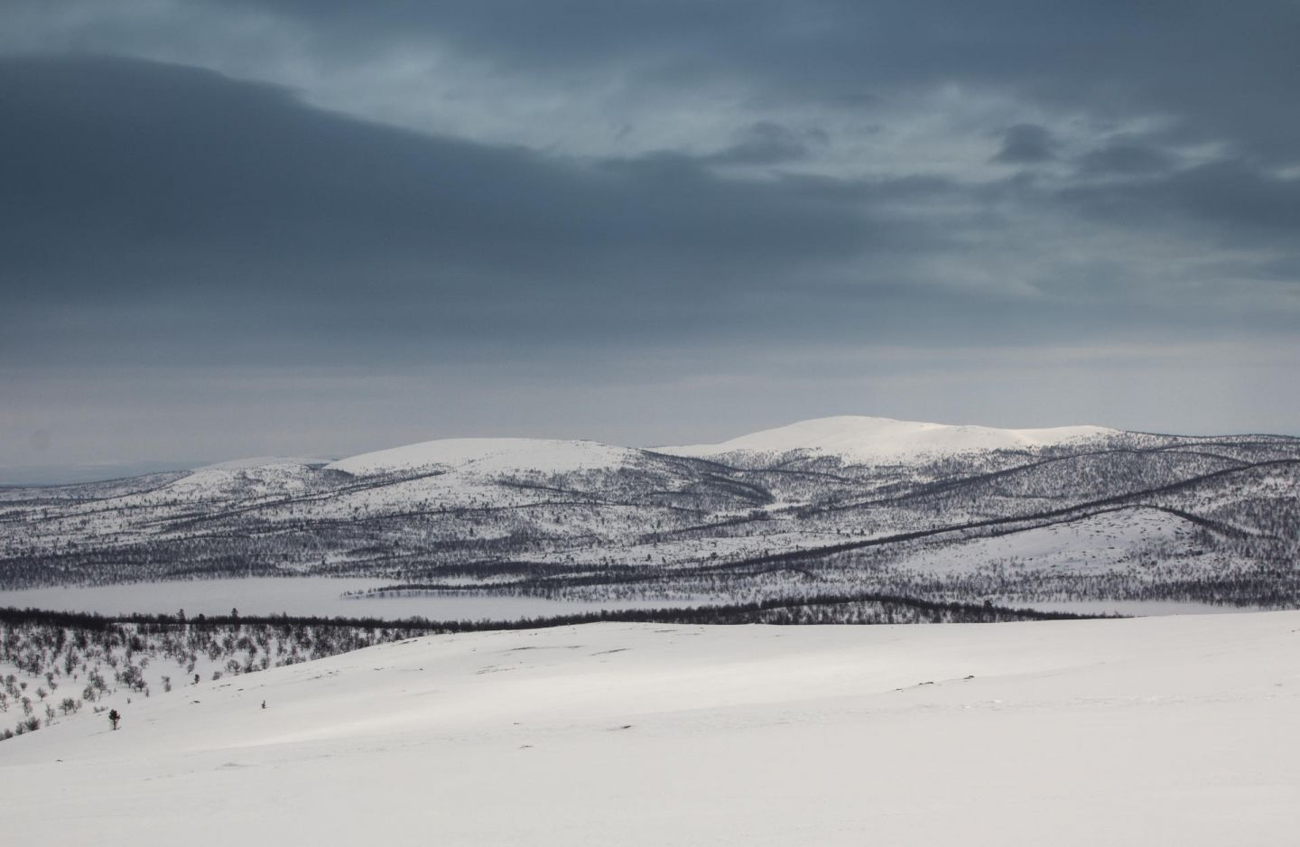 Fells in Inari, Finnish Lapland
