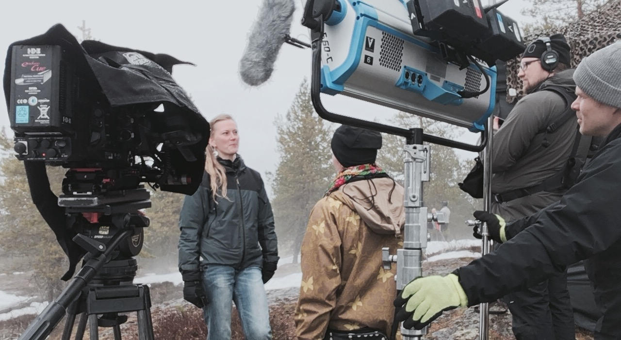 Film production services in Lapland