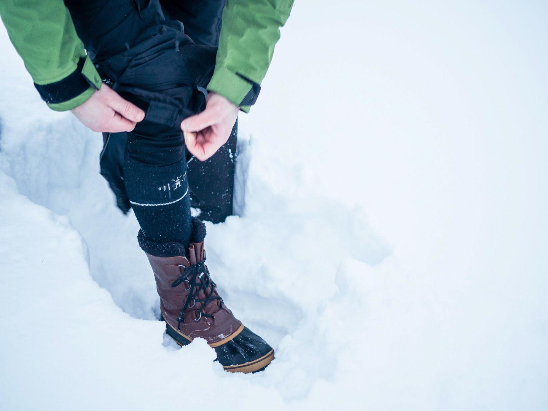Winter socks keep your feet warm and dry
