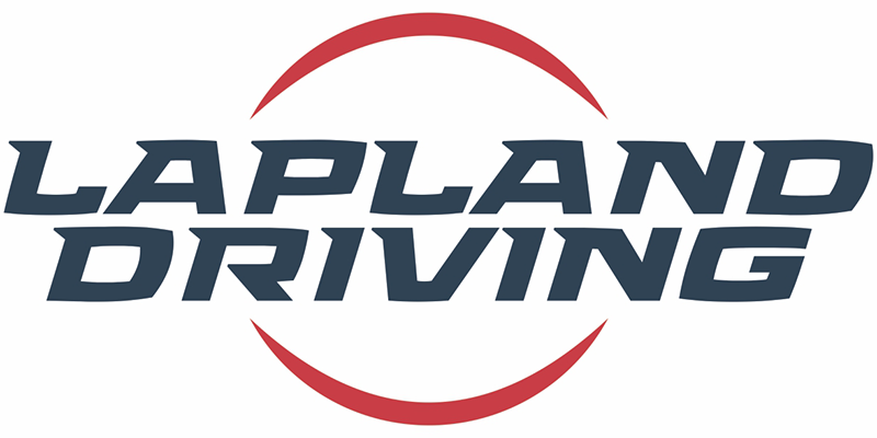 Logo for Lapland Driving, who offers film support services including winter driving