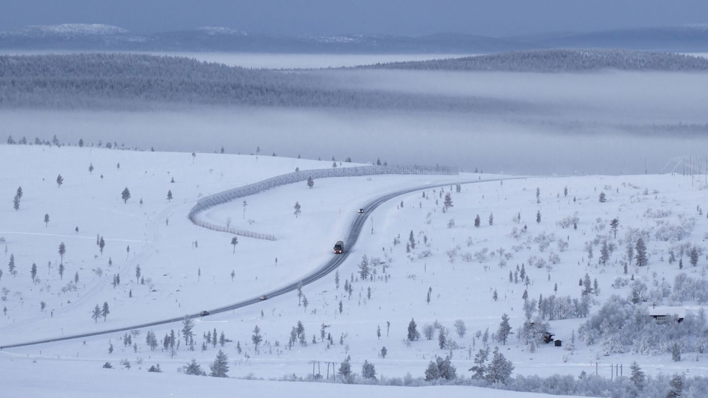 Lapland information driving